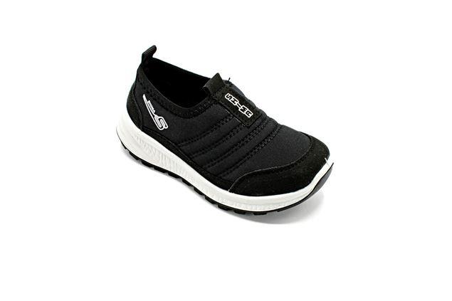 کفش راحتی اسکیچرز بچه گانه شیما کفش اسپرینگ مشکی سفید