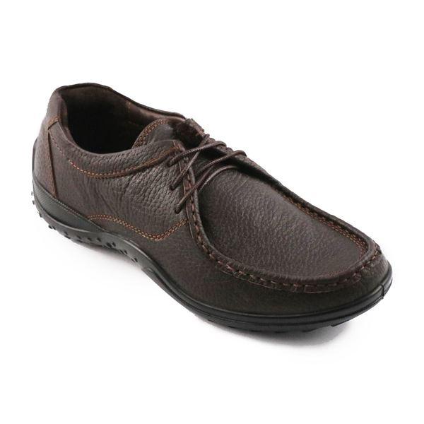 چرم طبیعی رسمی مجلسی طبی مردانه شیما کفش مدل بستون 604