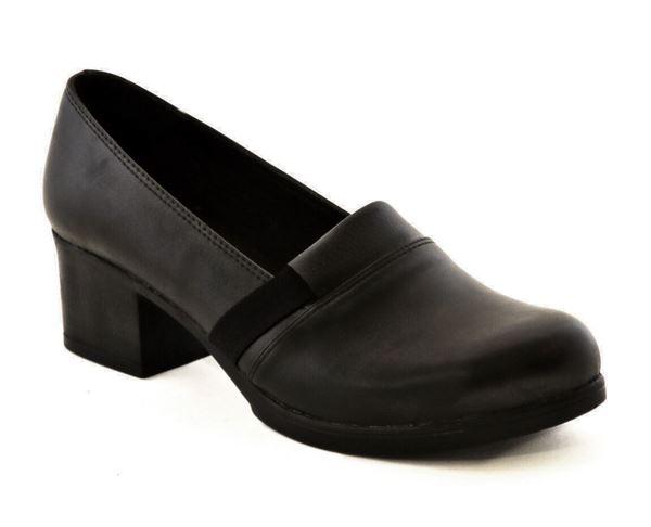 پاشنه 5 سانتی زنانه شیما کفش شاهزاده 112 مشکی