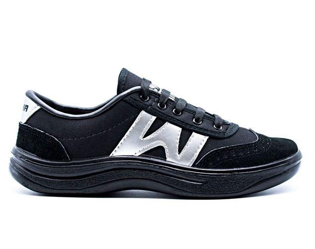 کتانی پسرانه شیما کفش دبلیو مشکی