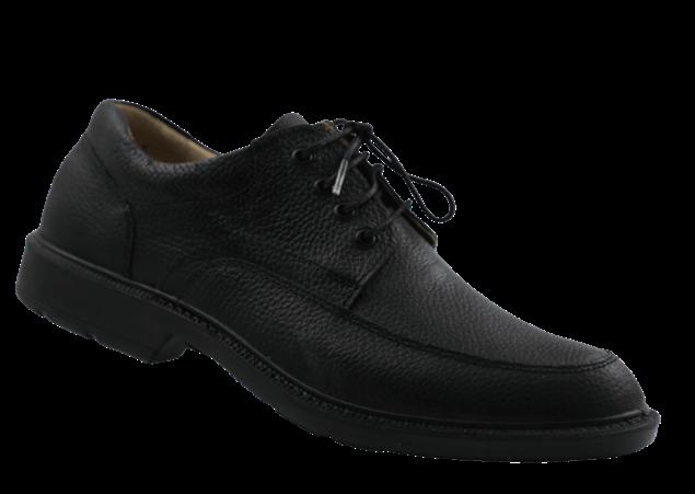 کفش چرم مردانه شیما آریزونا مشکی