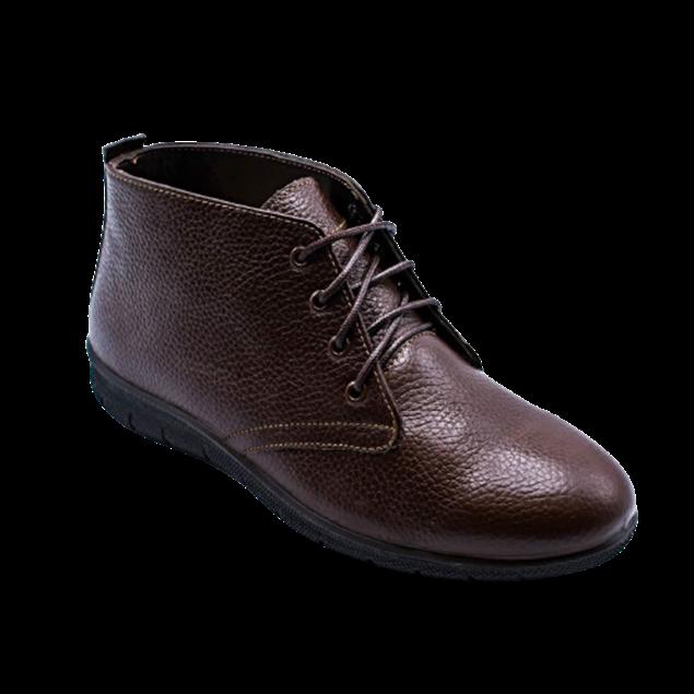 شیما کفش نیم بوت چرم طبیعی زنانه راجر 919