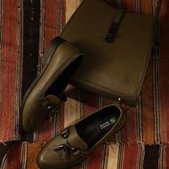 شیما کفش کیف چرم طبیعی زنانه سدری کد 803